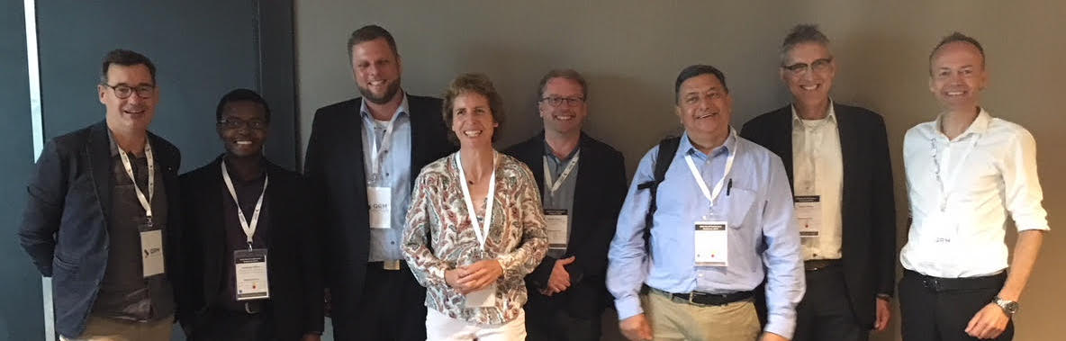 The EuroLEAN+ team at the 2018 QRM World Conference
